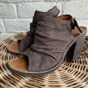 Fiorentini + Baker | Metallic Heel Sandal